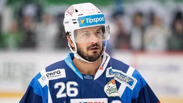 Kapitán brněnských hokejistů Martin Zaťovič