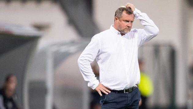 Trenér Viktorie Pavel Vrba. Jeho dny na plzeňské lavičce se údajně chýlí ke konci.