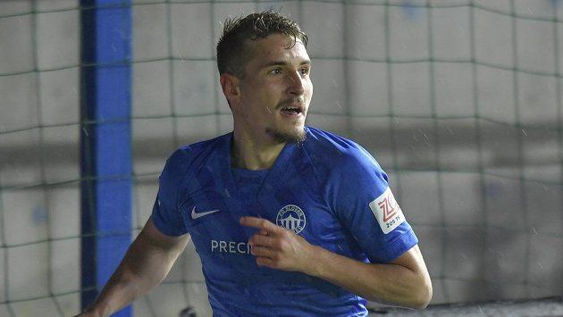 Michal Sadílek z Liberce při utkání s Pardubicemi.