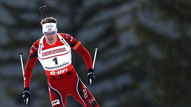 Jeden z hlavních favoritů na hrách v Soči Nor Emil Hegle Svendsen.