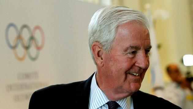 Prezident Světové antidopingové agentury Craig Reedie.