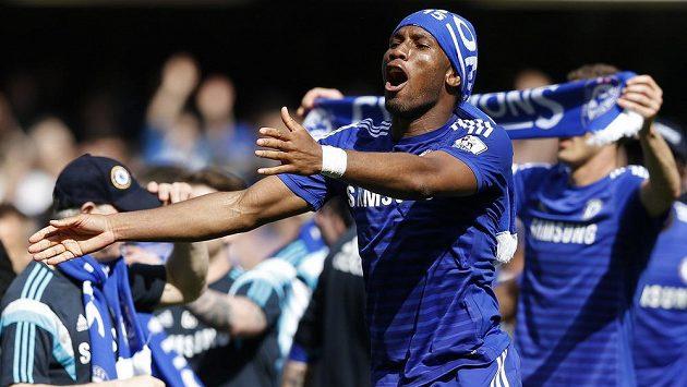 Didier Drogba po sezóně v Chelsea končí.