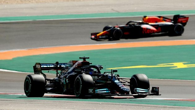 Britský pilot Mercedesu Lewis Hamilton, ilustrační foto.
