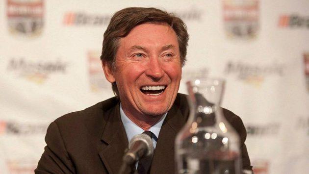 Legendární kanadský hokejista Wayne Gretzky