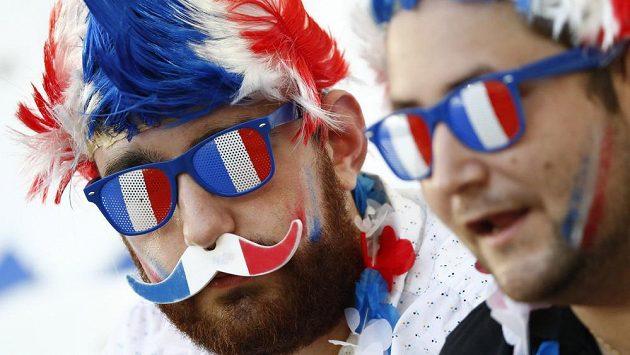 Francouzští fanoušci - ilustrační foto.