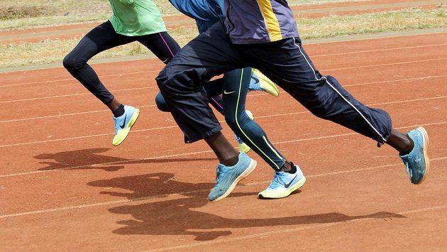 Keňští atleti, ilustrační snímek.