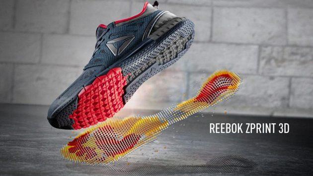 Boty Reebok Zprint 3D mají čím oslovit.