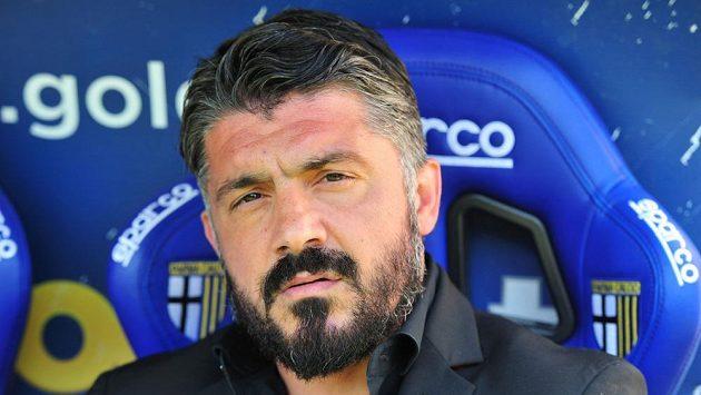 Gennaro Gattuso na snímku z dubna tohoto roku ještě jako kouč AC Milán.
