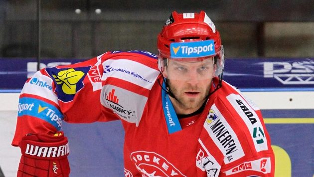 Třinecký hokejista Lukáš Galvas
