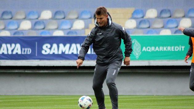 Pavel Dreksa při tréninku.