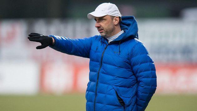 Trenér Slovanu Liberec Jindřich Trpišovský.