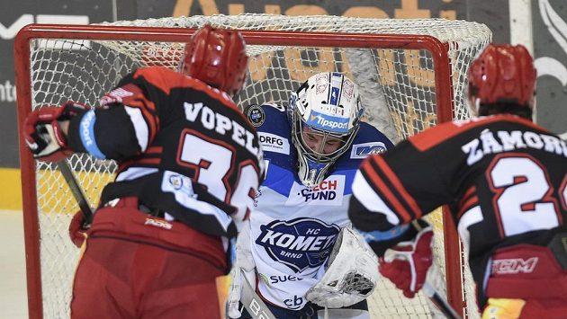 Ve čtvrtfinále play off dojde i na souboj Hradce Králové s brněnskou Kometou.