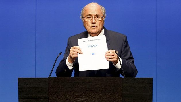 Prezident FIFA Sepp Blatter