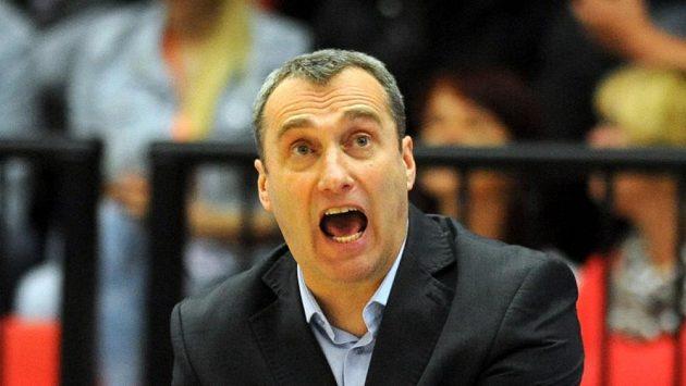 Nový kouč české basketbalové reprezentace Ronen Ginzburg.
