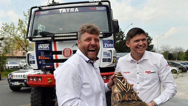 Martin Kolomý a Martin Prokop (vpravo).