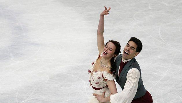 Italská dvojice Cappelliniová a Lanotte těsně získali světový titul v tancích na ledě.