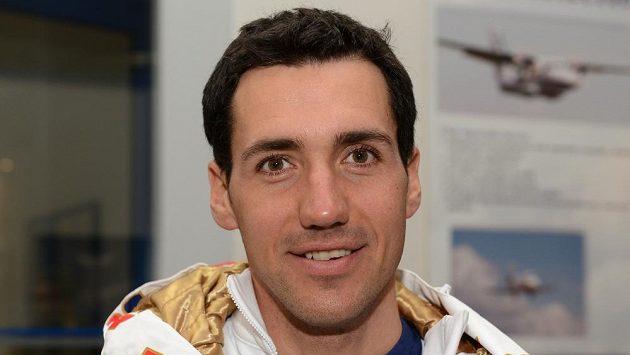Běžec na lyžích Petr Novák.