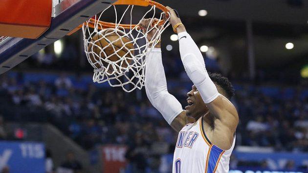 Russell Westbrook zaznamenal v NBA jedinečný triple double