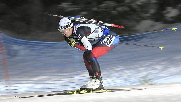 Veronika Vítková ve sprinterské bitvě SP.
