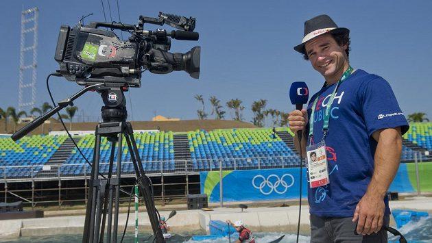 Stříbrný medailista z OH v Londýně Vavřinec Hradilek se představí v roli spolukomentátora závodů pro Českou televizi.