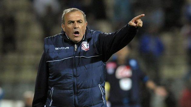 Odvolaný trenér Carpi Fabrizio Castori.