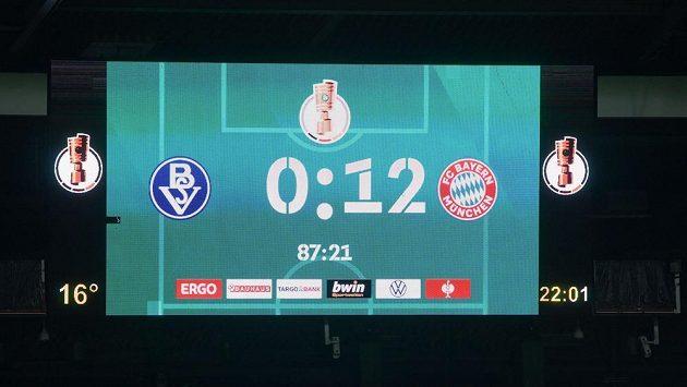 Bayern Mnichov spustil kanonádu
