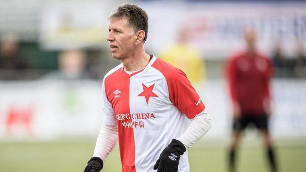 Jaroslav Šilhavý během Silvestrovského derby veteránů.