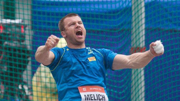 Český kladivář Lukáš Melich.