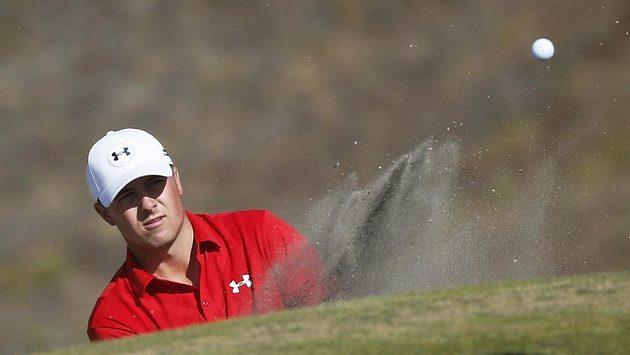 Jordan Spieth v golfovém US Open.