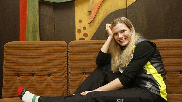 Gabriela Soukalová si užívá zaslouženého volna.