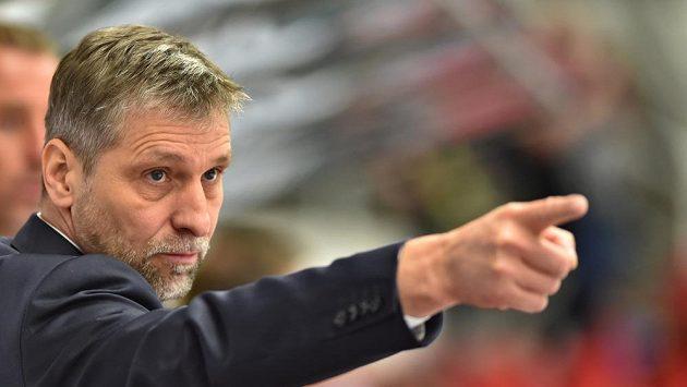 Trenér českých hokejistů Josef Jandač.