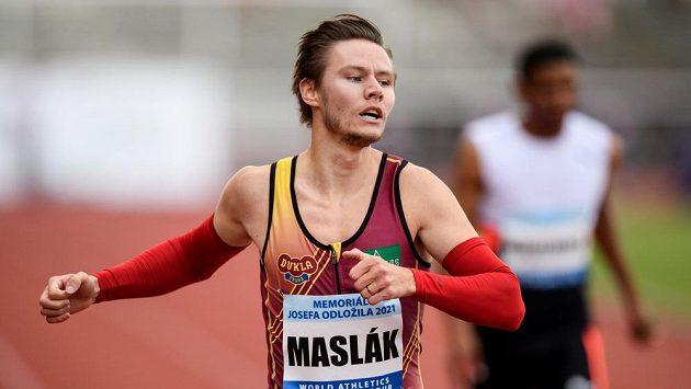 Body přispěl na konto atletů pražské Dukly také vítěz čtyřstovky Pavel Maslák - ilustrační foto