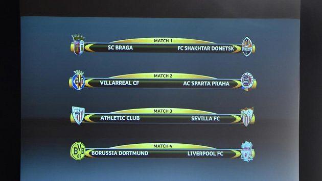 Los ve švýcarském Nyonu přisoudil pražské Spartě ve čtvrtfinále Evropské ligy španělský Villarreal.