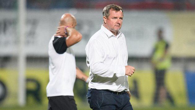 Trenér Viktorie Plzeň Pavel Vrba během utkání 8. kola Fortuna ligy v Příbrami.
