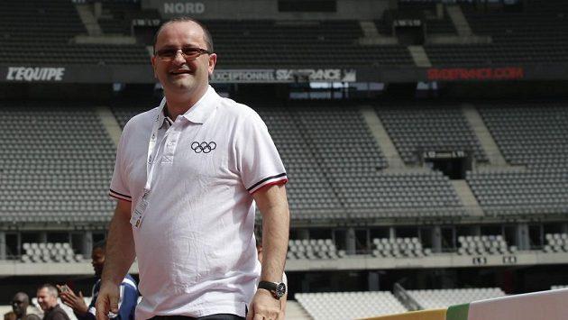 Patrick Baumann, vážený funkcionář MOV a generální sekretář basketbalové federace FIBA.