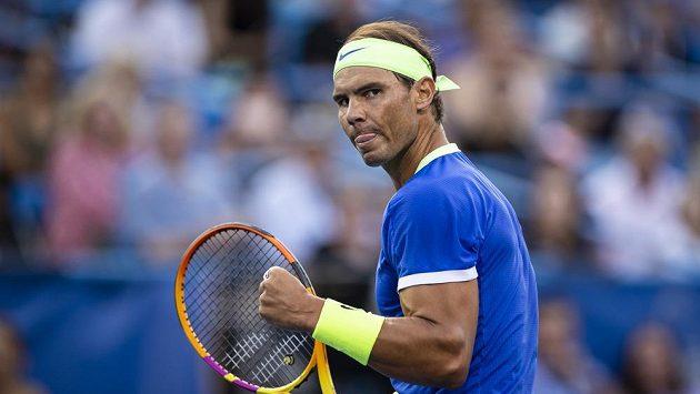 Španělský tenista Rafael Nadal na turnaji ve Washingtonu.