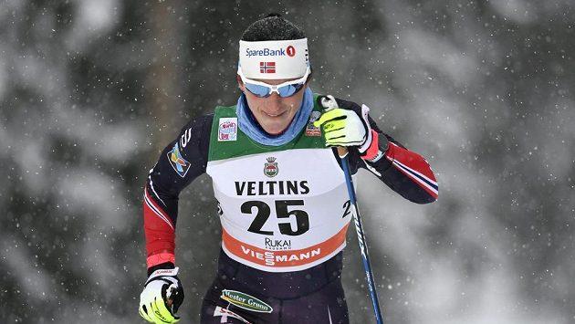 Marit Björgenová v akci během letošní sezóny.