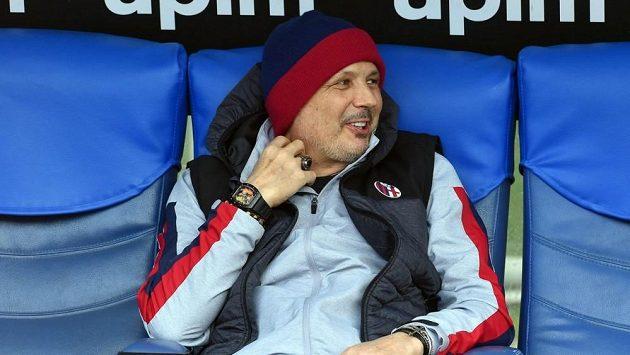 Srbský trenér Siniša Mihajlovič.