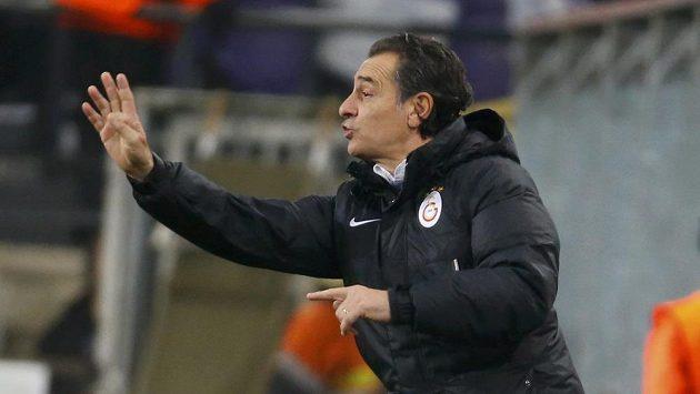 Odvolaný trenér Galatasaraye Cesare Prandelli.