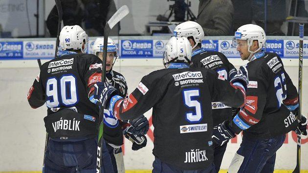 Hokejisté Plzně měli povedený vstup do extraligového duelu s Vítkovicemi. V šesté minutě vedli už 2:0.
