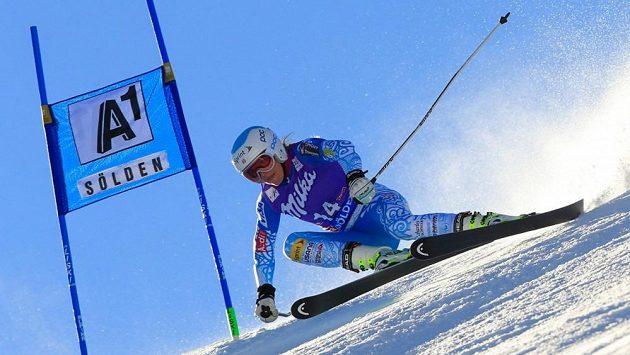 Americká lyžařka Julia Mancusová přijde o celou sezónu Světového poháru.