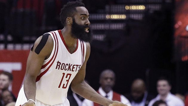 Basketbalista Houstonu James Harden