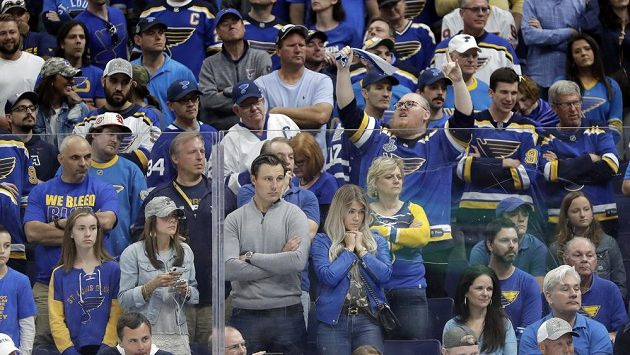 Fanoušci hokejistů St. Louis - ilustrační foto.