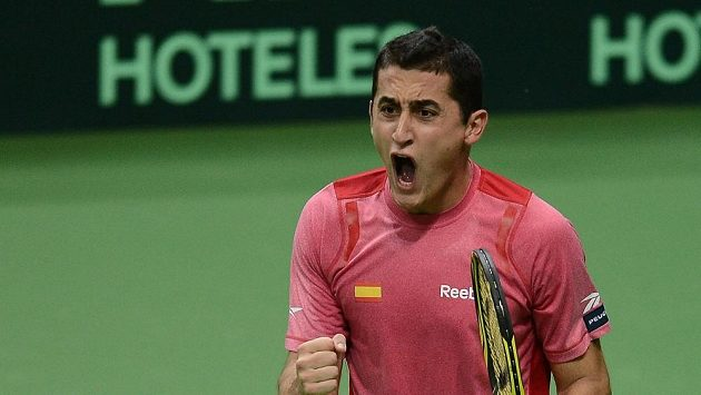 Španělský tenista Nicolás Almagro.