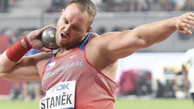 Český koulař Tomáš Staněk.