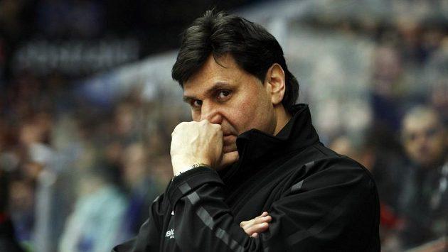 Slávistický trenér Vladimír Růžička.