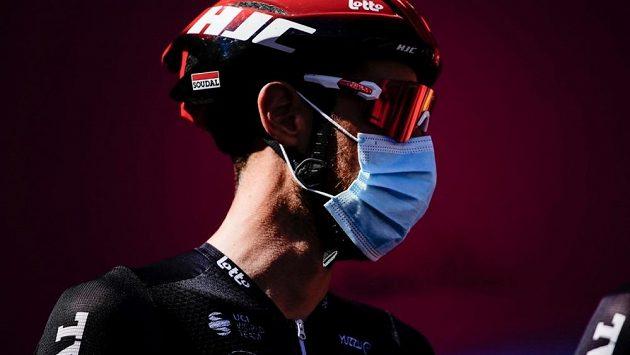 Propršenou 12. etapu cyklistického Gira d'Italia vyhrál Jhonatan Manuel Narváez