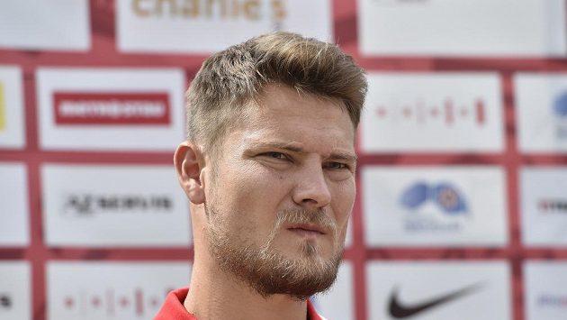 Kapitán Zbrojovky Pavel Dreksa.