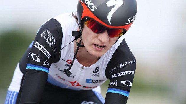 Martina Sáblíková trénuje na olympiádu v Riu.