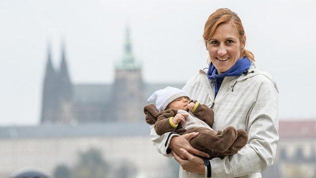 Miroslava Topinková Knapková se stala podruhé maminkou (archivní foto)